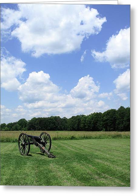 Chancellorsville Battlefield Greeting Card by Frank Romeo