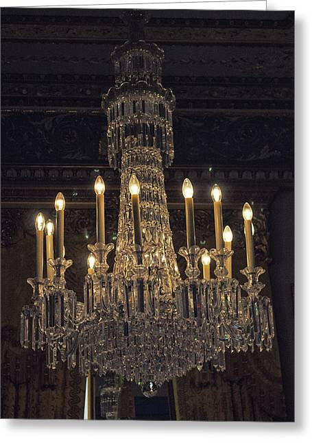 Chandelier Greeting Card