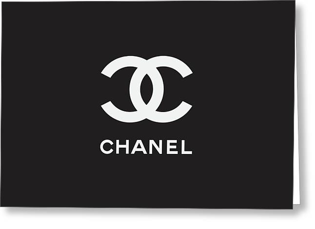 Chanel - Black And White 03 - Lifestyle And Fashion Greeting Card