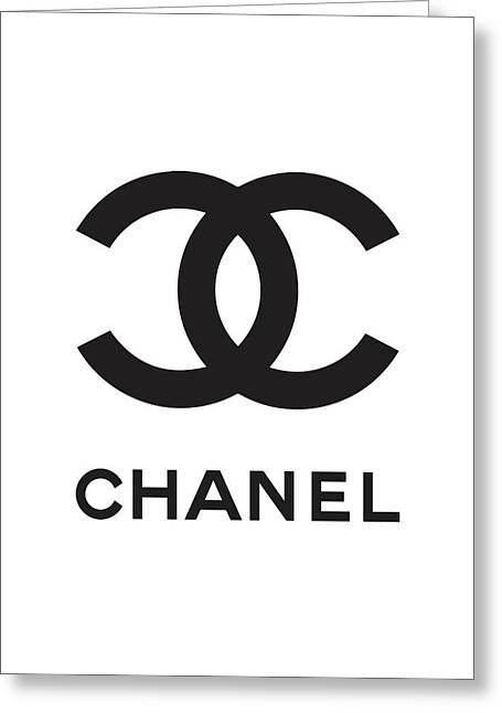 Chanel - Black And White 04 - Lifestyle And Fashion Greeting Card
