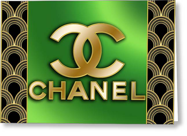 Chanel - Chuck Staley Greeting Card by Chuck Staley