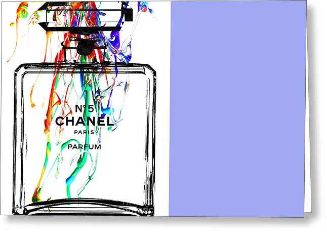 Chanel Greeting Card by Daniel Janda