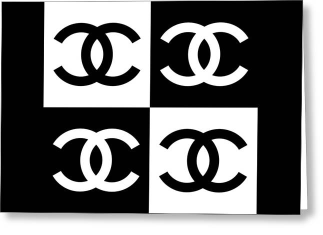 Chanel Design-5 Greeting Card