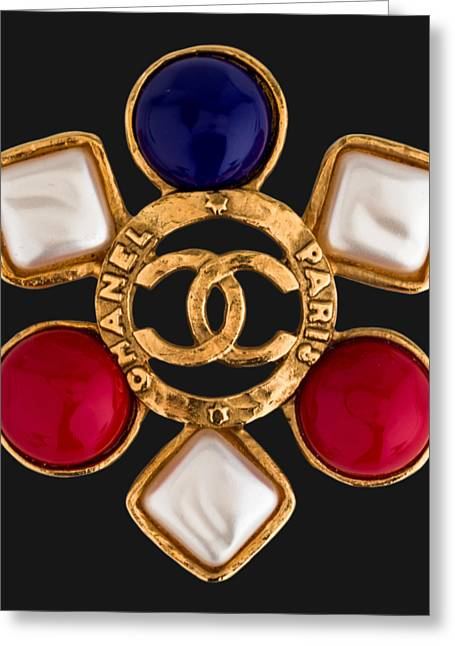 Chanel Jewelry-14 Greeting Card