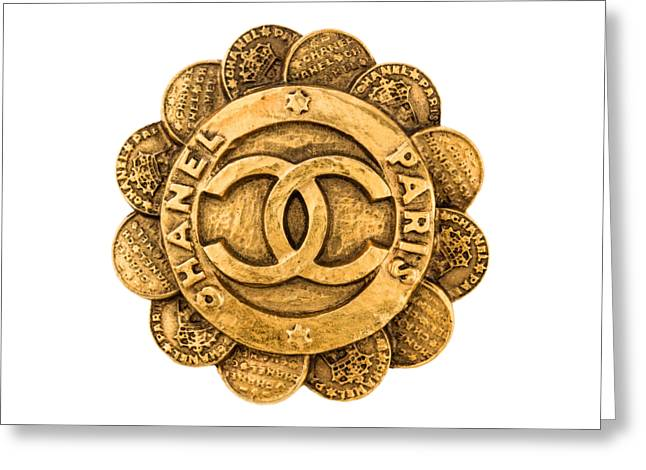Chanel Jewelry-2 Greeting Card