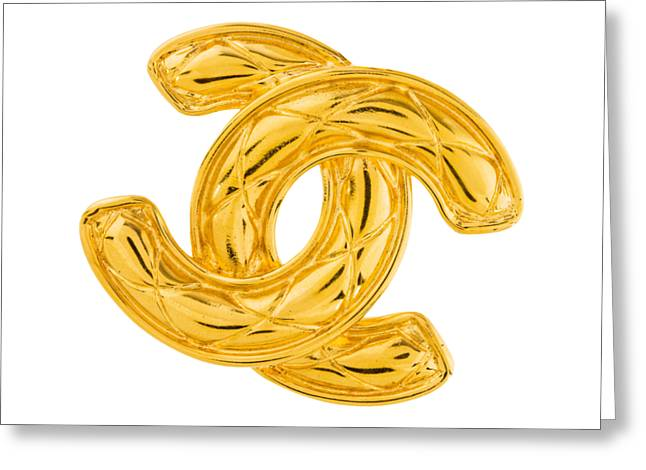 Chanel Jewelry-4 Greeting Card