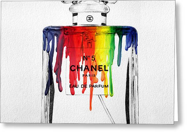 Chanel  Greeting Card by Mark Ashkenazi
