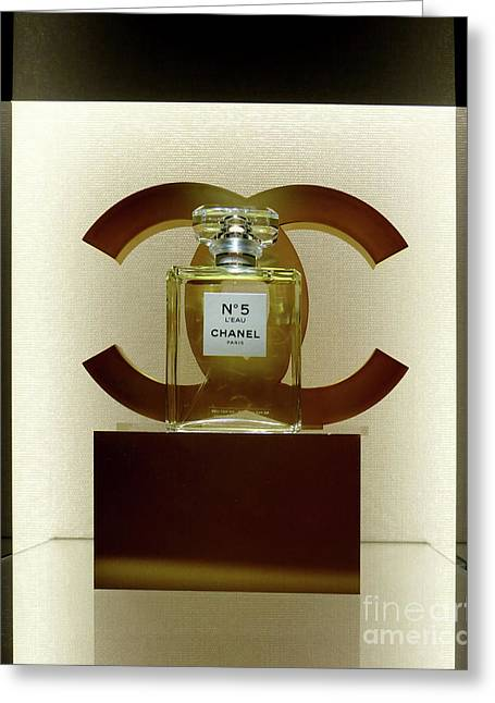 Chanel No 5 L'eau 3 Greeting Card by To-Tam Gerwe