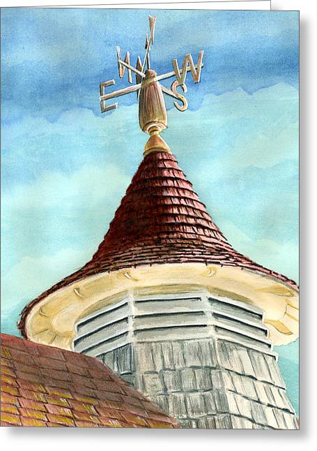 Change In The Wind Greeting Card by Thomas Hamm