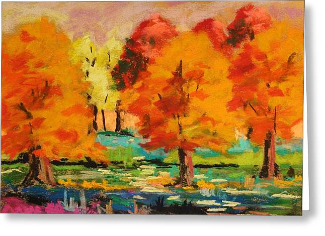 Changing Grove Greeting Card by John Williams