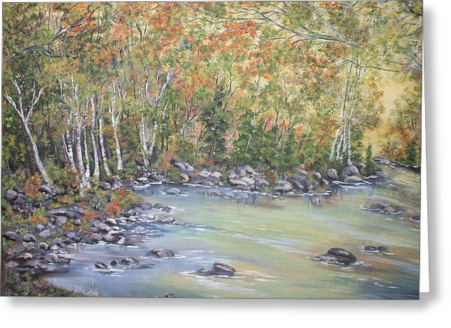 Changing Seasons Greeting Card by Bev  Neely