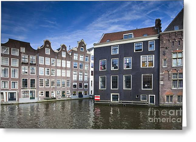 Channles Of Amsterdam Greeting Card by Andre Goncalves