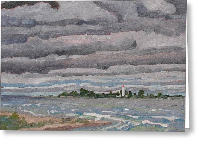 Chantry Skies Greeting Card by Phil Chadwick