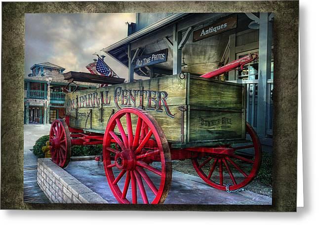 Chaparral Wagon Greeting Card