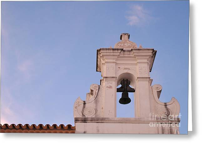 Chapel Bell 1727 Greeting Card by Angelo DeVal