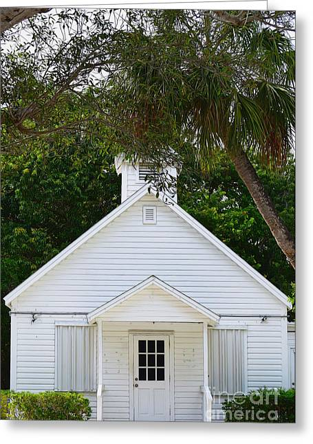 Chapel By The Sea Greeting Card by Patti Whitten