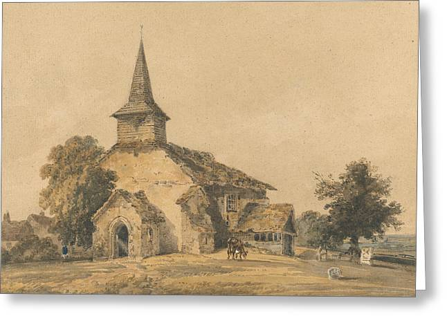 Chapel Church, Surrey Greeting Card