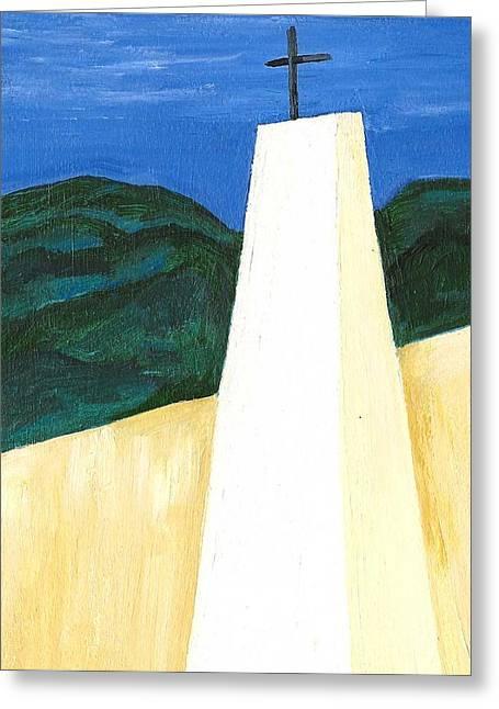 Chapel En Pinares Greeting Card by Susan Macdonald