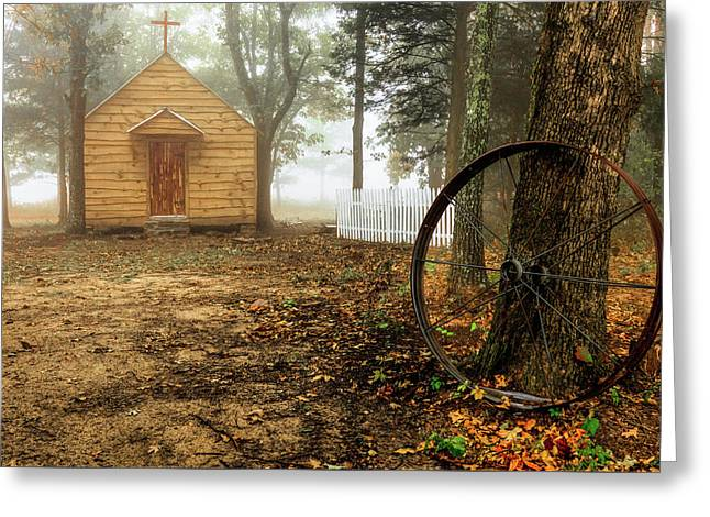 Chapel In The Woods 1 Greeting Card