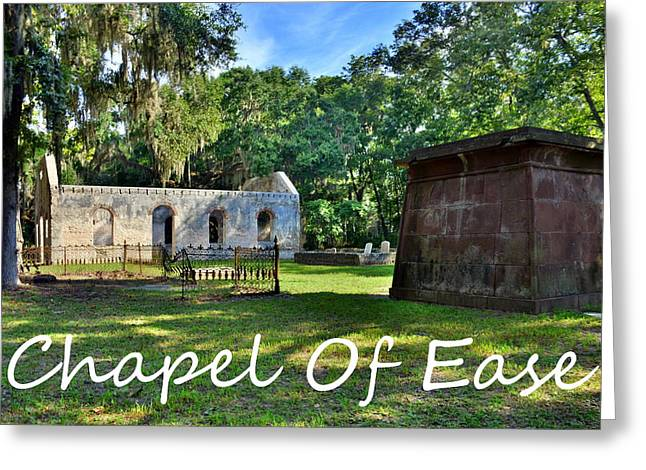 Chapel Of Ease Greeting Card