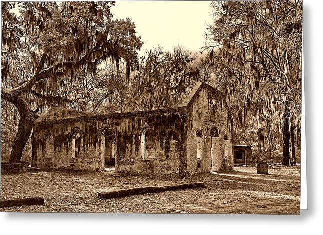 Chapel Of Ease Sc Greeting Card