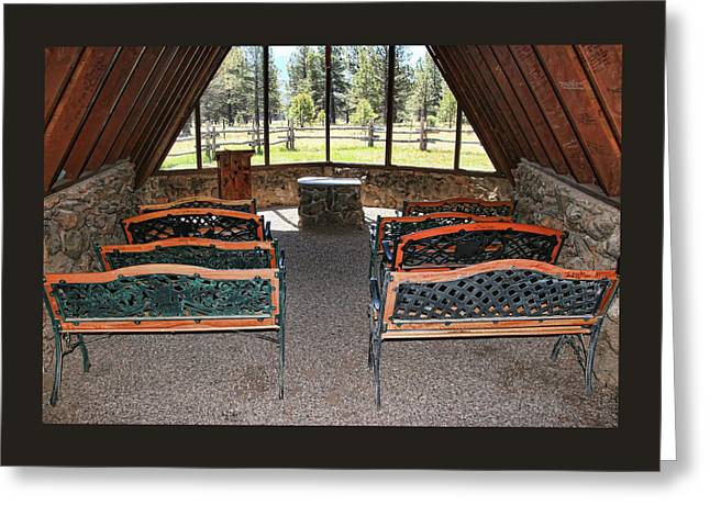 Chapel Of The Holy Dove - Flagstaff, A Z # 3 Greeting Card