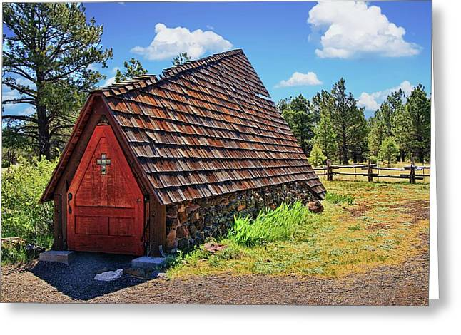 Chapel Of The Holy Dove - Flagstaff, A Z  Greeting Card