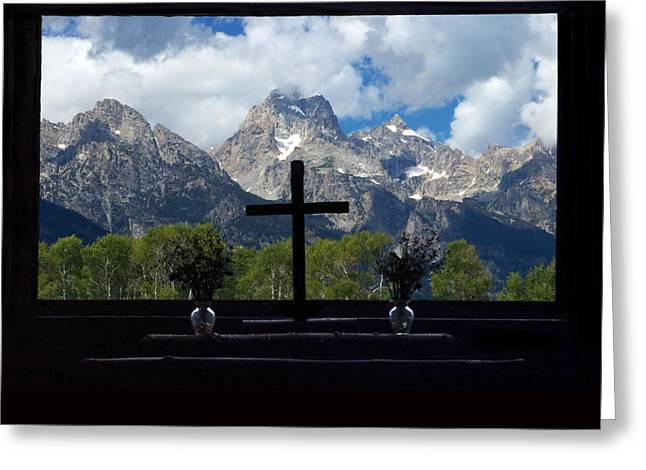 Chapel Of The Transfiguration Greeting Card by Don Keisling