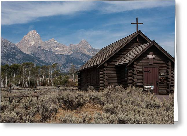 Chapel Of The Transfiguration Greeting Card by Katie LaSalle-Lowery