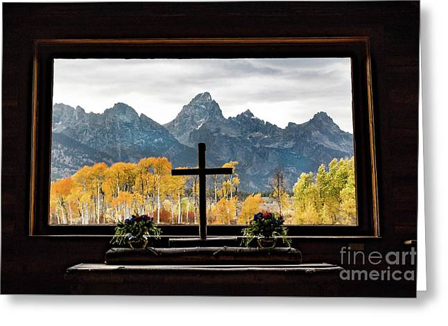Chapel Of The Transfiguration Greeting Card by Lynn Sprowl