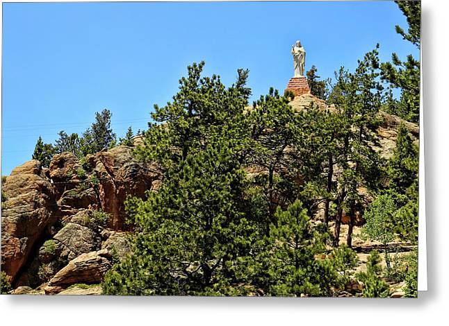Chapel On The Rocks - Colorado Greeting Card