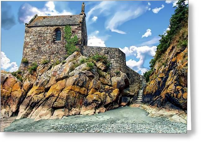 Chapel Saint-aubert Greeting Card