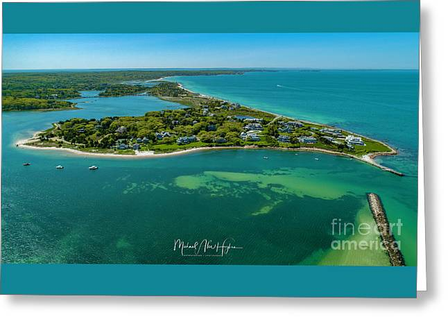 Chapoquoit Island Greeting Card