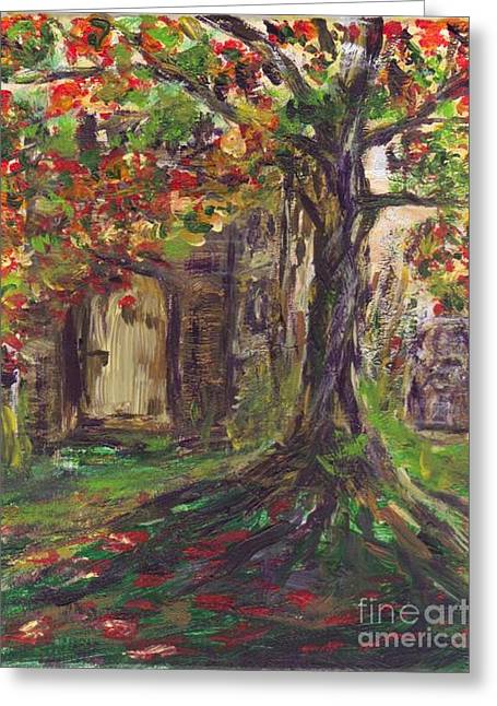 Chappell For My Soul Greeting Card by Mary Sedici
