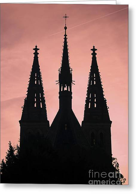 Chapter Church Of St Peter And Paul Greeting Card by Michal Boubin