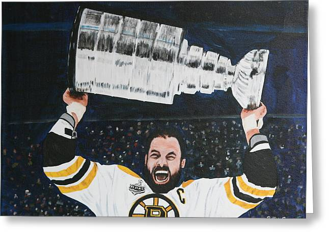 Chara And The Cup Greeting Card