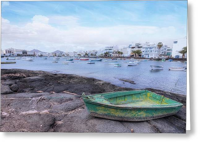 Charco San Gines - Lanzarote Greeting Card by Joana Kruse