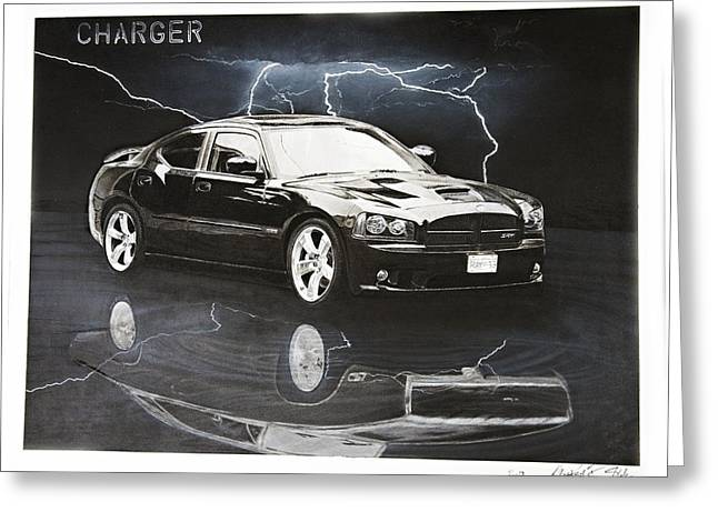 Charger Greeting Card by Raymond Potts