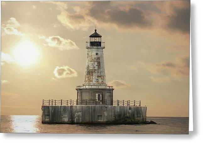 Charity Shoal Lighthouse Greeting Card