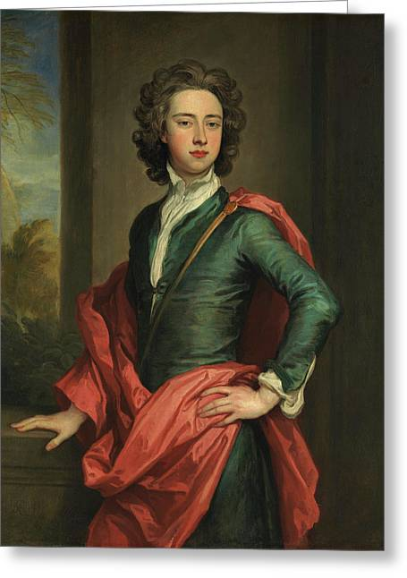 Charles Beauclerk, Duke Of St. Albans Greeting Card by Godfrey Kneller