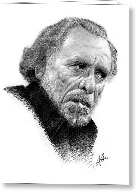 Charles Bukowski 1 Greeting Card