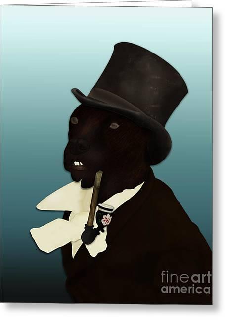 Charles Duddingston Greeting Card by Loz Mac
