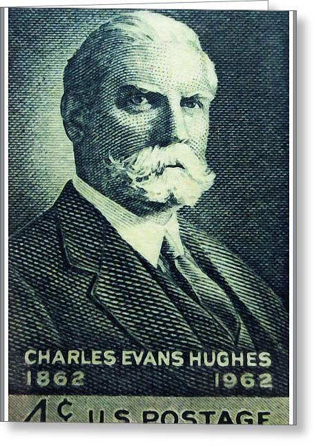 Charles Evans Hughes Greeting Card