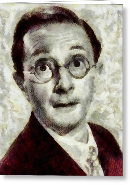 Charles Hawtrey, Carry On Actor Greeting Card