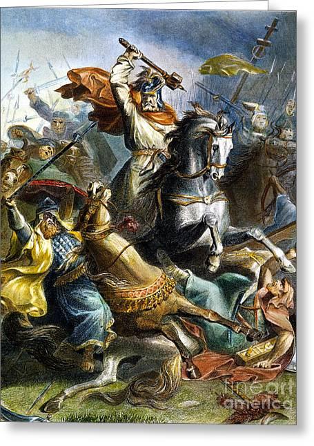 Charles Martel (c688-741) Greeting Card
