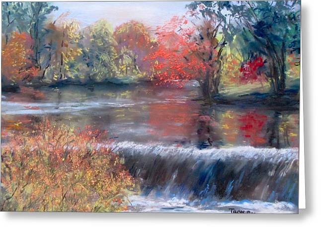 Charles River, Natick Greeting Card