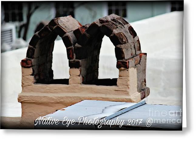 Charleston Chimneys 101 Greeting Card