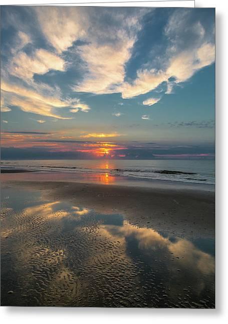Charleston Coast Sunrise Greeting Card