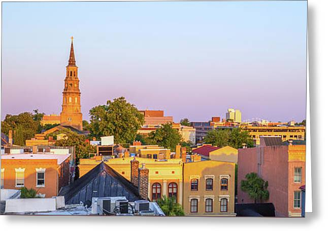 Charleston Glows Greeting Card