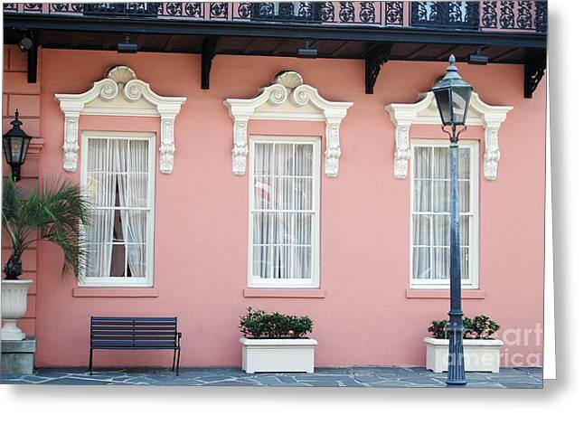 Charleston Historical District - The Mills House - Charleston Architecture  Greeting Card